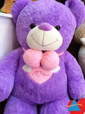 Gấu Teddy I Love You - Cánh Thiên Thần
